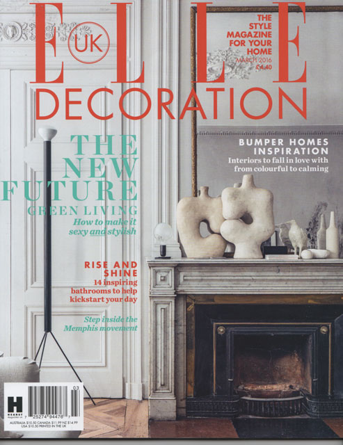 Presse ELLE DECO UK - mars 2016