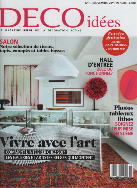 maison hand lyon design et mobilier contemporain la presse deco id es le magazine belge. Black Bedroom Furniture Sets. Home Design Ideas
