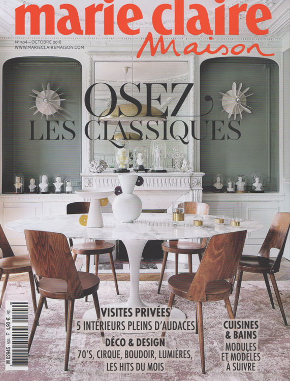 marie claire maison octobre 2018 - Photos Frenchie Cristogatin.