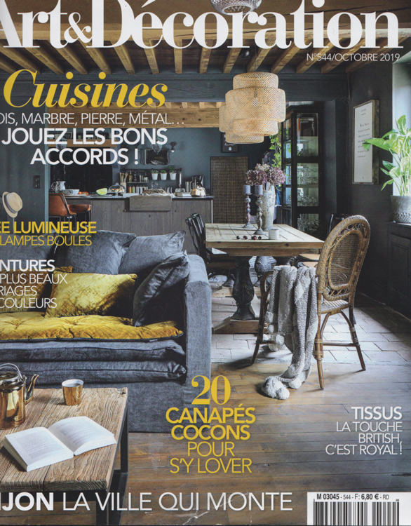 Maison HAND - ART&DECORATION octobre 2019